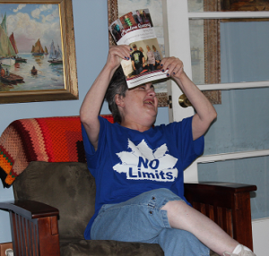 No limits to Susan's enthusiasm … Susan's story will be in the next issue of the DODD Pipeline Quarterly feature publication. Look for it this month! Susan Neva of Mahoning County is one of many people living in the community, utilizing shared living services in a family home.
