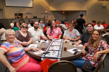 Tables at the Xenos conference center in Columbus were packed with more than 400 DSPs from throughout the state.