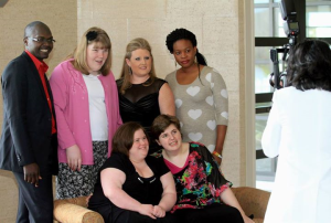 This photo includes Homefront Nursing staff, pictured with the young women they support. Homefront Nursing earned the Agency Provider of the Year award in Butler County last month. The photo was snapped at the Butler County Board of DD (BCBDD) annual Community Recognition Dinner. Check out the Facebook album of additional event photos. In addition, BCBDD prepared an awareness video focusing on community-based jobs, which includes a short commercial advertisement. Several County Boards of DD have made great videos this year, illustrating developmental disabilities awareness efforts in their communities. Congratulations to all!