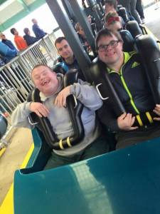 Thanks to The Arc of Ohio for another wonderful day at Cedar Point - it was a little chilly, but everyone had a great time. DODD was honored to be a part of the fun, and help The Arc offer families this wonderful opportunity. Above are two men from Creative Foundations, a provider that brought more than 100 individuals to enjoy the day. See more photos and information on The Arc of Ohio's Facebook page.