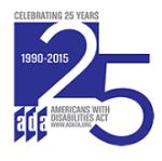 ADA 25th Annivesary Logo