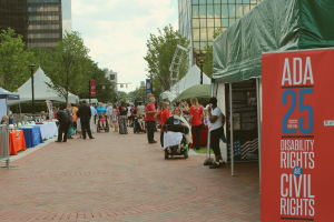 ADA Vendor Fair at the Columbus Commons